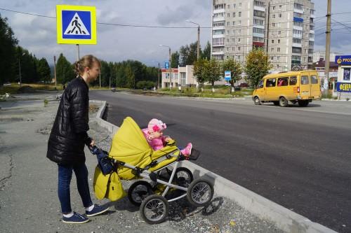 В УГХ просят качканарцев, в том числе и мам с колясками, переждать временные трудности