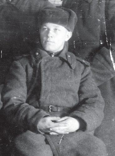 Рядовой Попов во время Великой Отечественной войны
