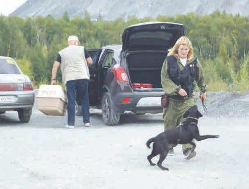 Кинолог Елена Селифанова с собакой Герой